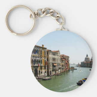 A Day in Venice Basic Round Button Keychain