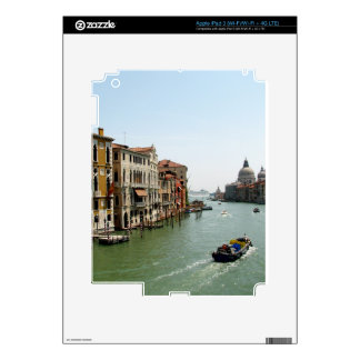A Day in Venice Decal For iPad 3