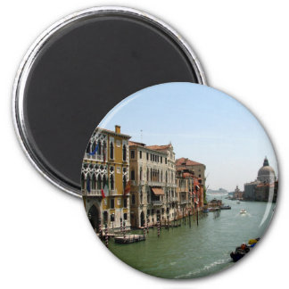 A Day in Venice 2 Inch Round Magnet