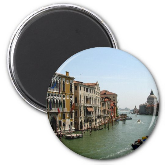 A Day in Venice Magnet