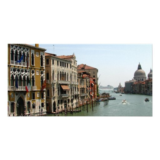 A Day in Venice Photo Card