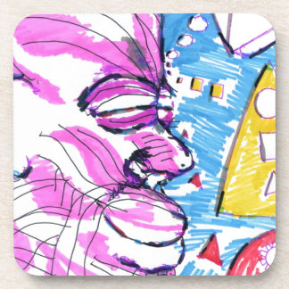 A Day Of Happy Imagination Drink Coaster