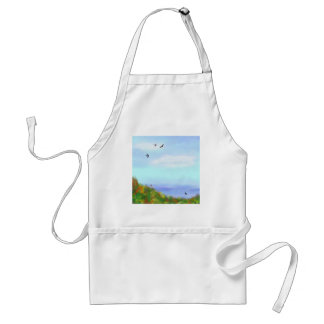 A Day Off Adult Apron