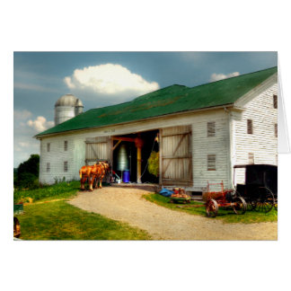 A Day on the Farm Card