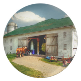 A Day on the Farm Plate