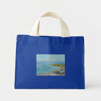 A DAY ON THE WATER Tiny Tote