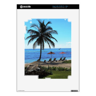A day under the palm tree skin for iPad 2