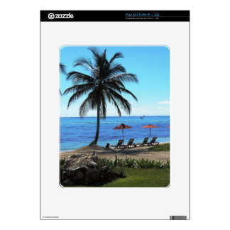 A day under the palm tree skins for iPad
