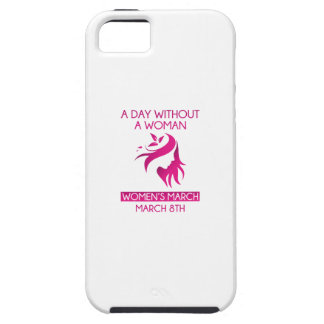 A Day Without A Woman iPhone SE/5/5s Case