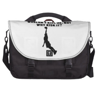 A Day Without Basketball Commuter Bags