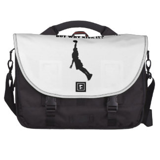 A Day Without Basketball Laptop Bag