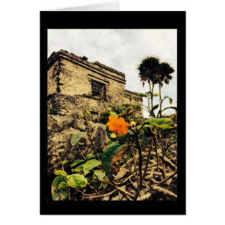 A day without beauty is ruined. greeting card