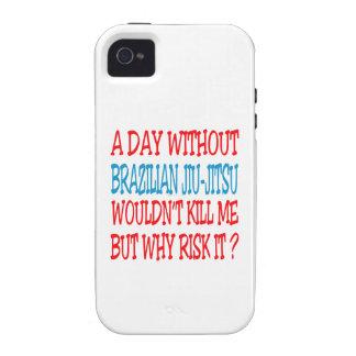 A Day Without Brazilian Jiu-Jitsu. iPhone 4/4S Covers