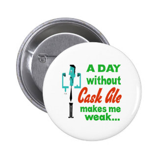 A day without Cask Ale make me weak.. Buttons