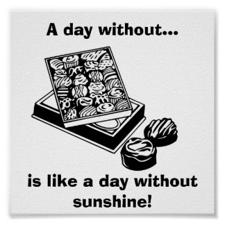 A Day Without Chocolate...: Fun Poster