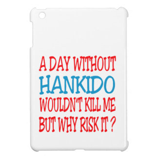A Day Without Hankido. iPad Mini Case