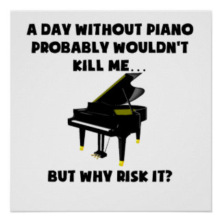 A Day Without Piano Poster