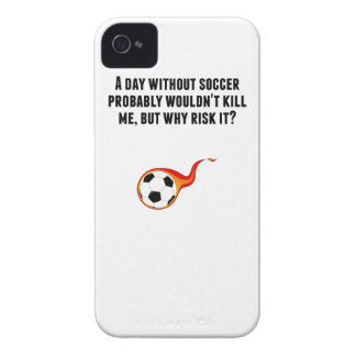 A Day Without Soccer iPhone 4 Covers