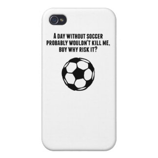 A Day Without Soccer iPhone 4/4S Cases