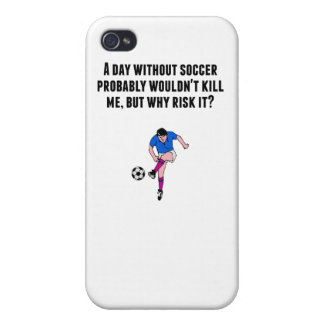 A Day Without Soccer Cases For iPhone 4