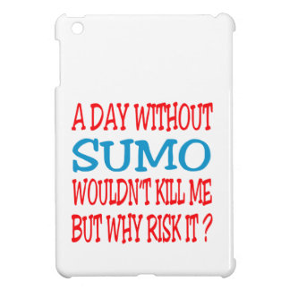 A Day Without Sumo. Case For The iPad Mini