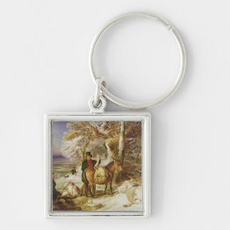 A Day's Sport, 1826 (oil on canvas) Keychain