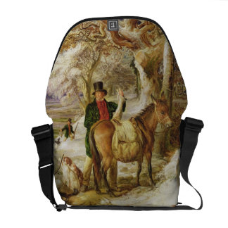 A Day's Sport, 1826 (oil on canvas) Messenger Bag