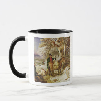 A Day's Sport, 1826 (oil on canvas) Mug