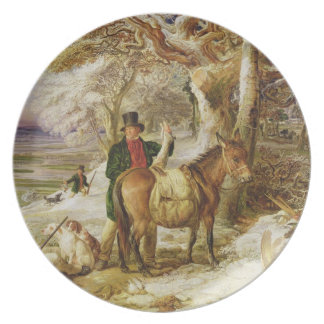 A Day's Sport, 1826 (oil on canvas) Plate
