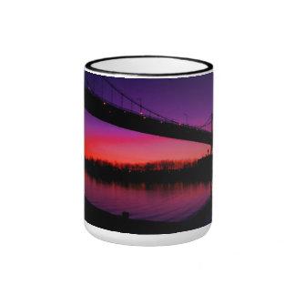 a Dazzling set of colors Ringer Mug