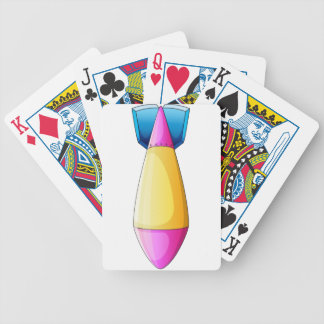 A deadly bomb bicycle playing cards