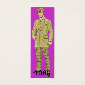 A Decade Apart Bookmark Mini Business Card