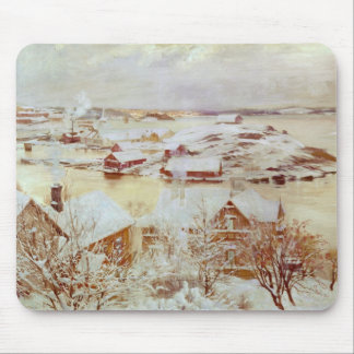 A December Day  c.1893 Mouse Pad