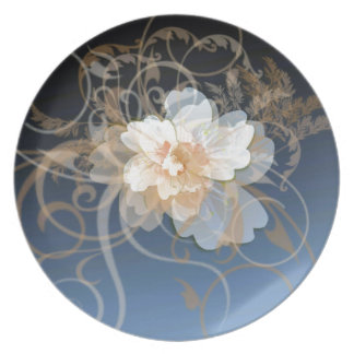 A Decorum of Flowers Plate