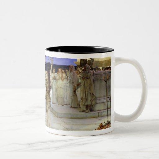 A Dedication to Bacchus, 1889 Coffee Mugs
