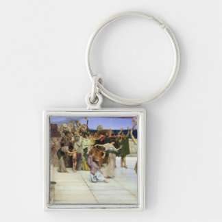 A Dedication to Bacchus, 1889 Keychain
