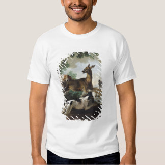 A Deer Chased by Dogs, 1725 Tee Shirt