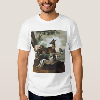 A Deer Chased by Dogs, 1725 Tee Shirts