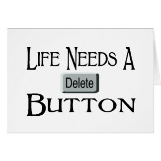 A Delete Button Cards