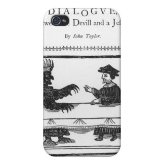 A Delicate Dainty Damnable Dialogue iPhone 4 Cover