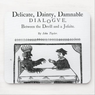A Delicate Dainty Damnable Dialogue Mouse Pad