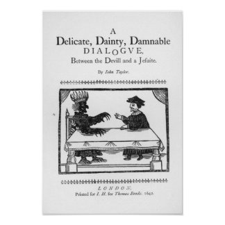 A Delicate Dainty Damnable Dialogue Poster