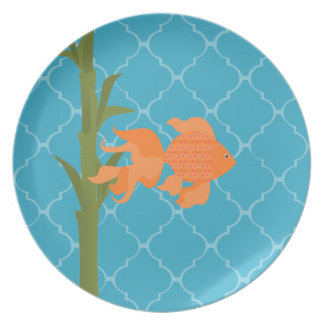 A Delightful Goldfish Party Plates