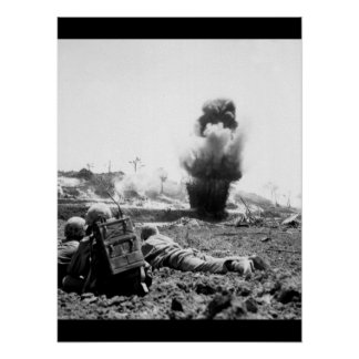 A demolition crew from the 6th Marine_War Image Poster