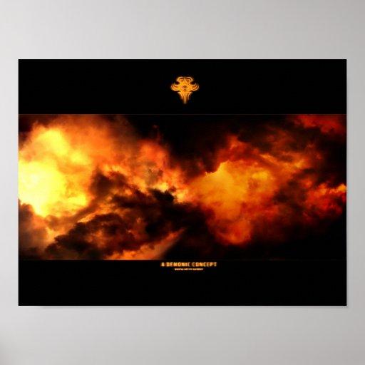 A Demonic Concept Poster