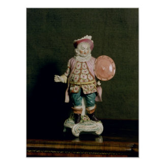A Derby figure of Falstaff Poster