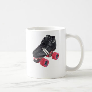 A derby mind is a terrible thing to waste. basic white mug