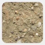 A Desert in Miniature Square Sticker