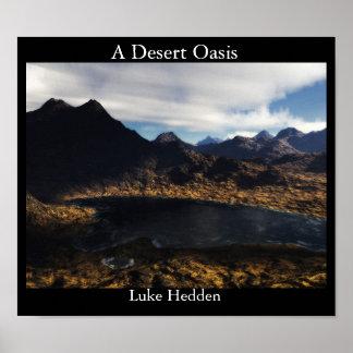 A Desert Oasis Poster