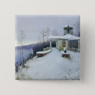 A deserted manor house button